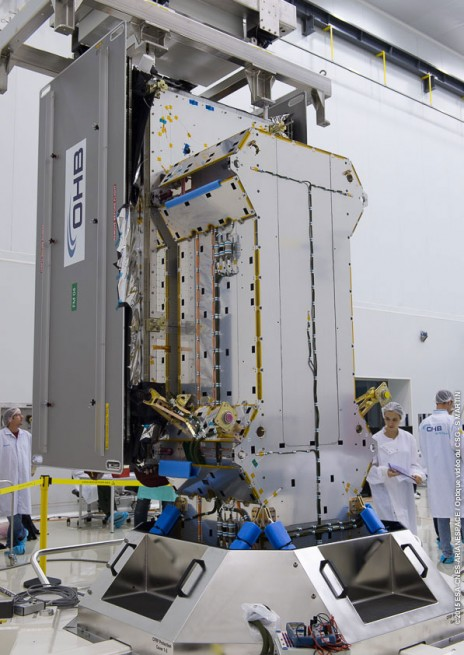 ESA's FOC satellites undergo fit checks in preparation for late March launch