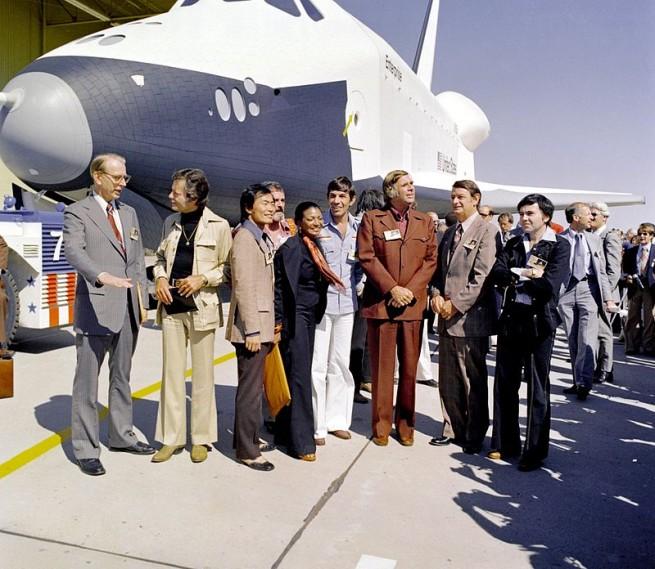 Star Trek crew visits NASA as seen on Spaceflight Insider