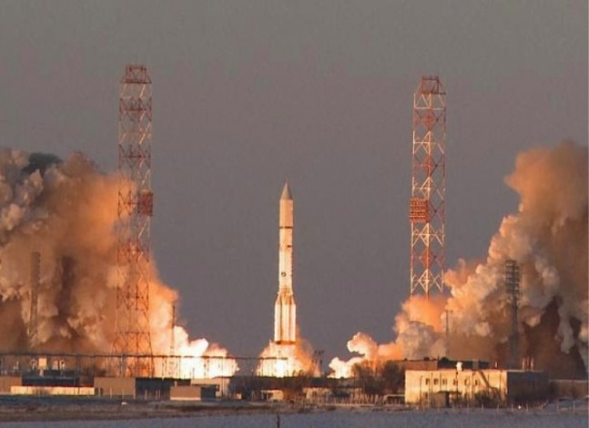 Inmarsat 5 launches International Launch Services ILS Proton rocket image credit ILS posted on SpaceFlight Insider