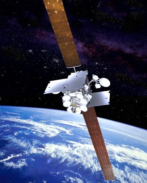 Artist rendition of the Inmarsat-5 as seen on Spaceflight Insider