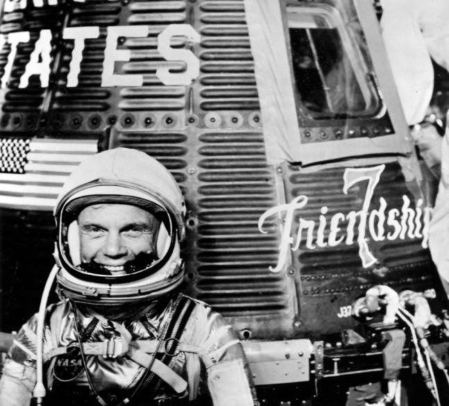 John Glenn Friendship 7 as seen on Spaceflight Insider