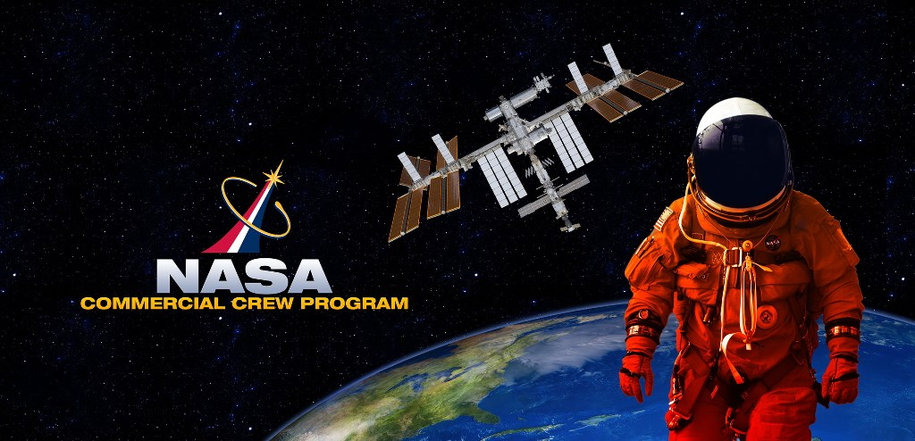 NASA Commercial Crew Program logo image posted on SpaceFlight Insider