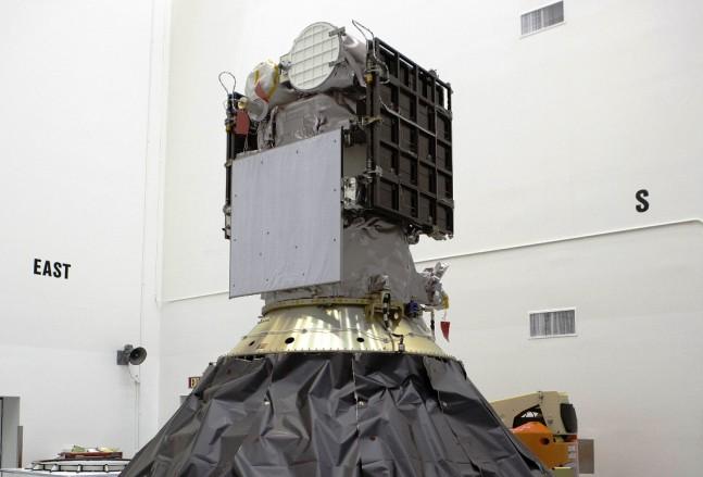 NASA image of NOAA DSCOVR spacecraft