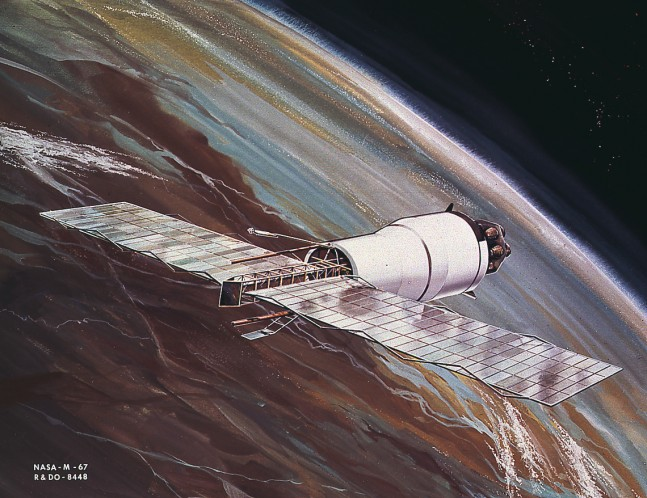 Pegasus Satellite as seen on Spaceflight Insider