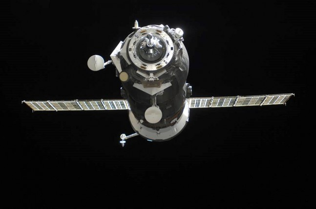 Russian Soyuz Progress spacecraft arrives at the International Space Station ISS