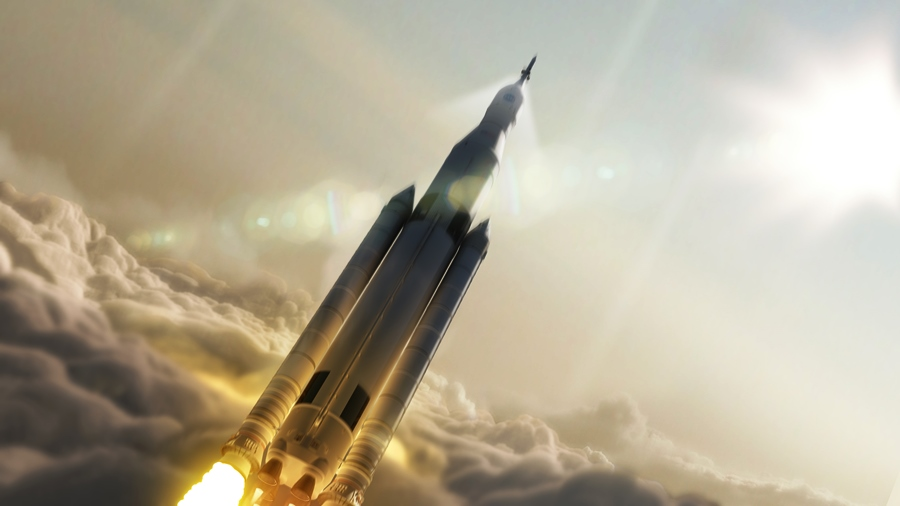 SLS Space Launch System NASA image posted on SpaceFlight Insider