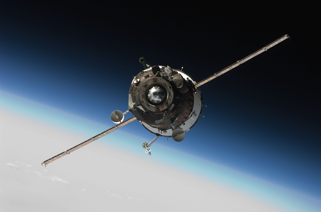 Soyuz spacecraft bound for the International Space Station NASA photo posted on SpaceFlight Insider