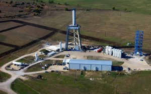 The SpaceX testing facility in McGregor, TX. Photo Credit: SpaceX