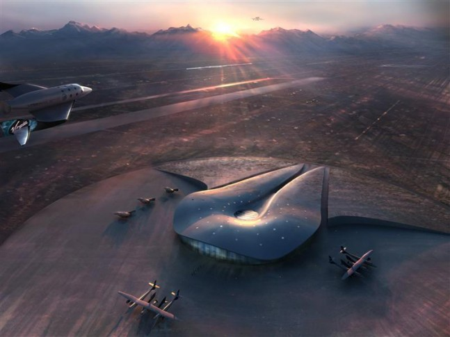 Spaceport America graphic posted on SpaceFlight Insider