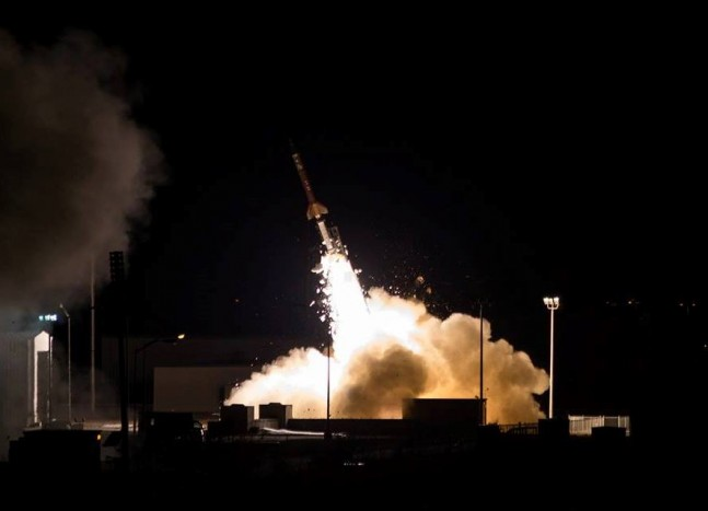 Terrier Oriole sounding rocket launches from NASA's Wallops Flight Facility in Virginia NASA photo posted on SaceFlight Insider