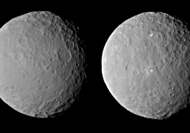 Ceres surface features