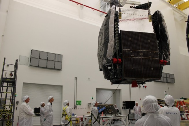 Orbital Sciences GEOStar-2 satellite as seen on Spaceflight Insider