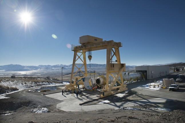 QM-1 SRB ATK Promontory, UT. Photo Credit: ATK