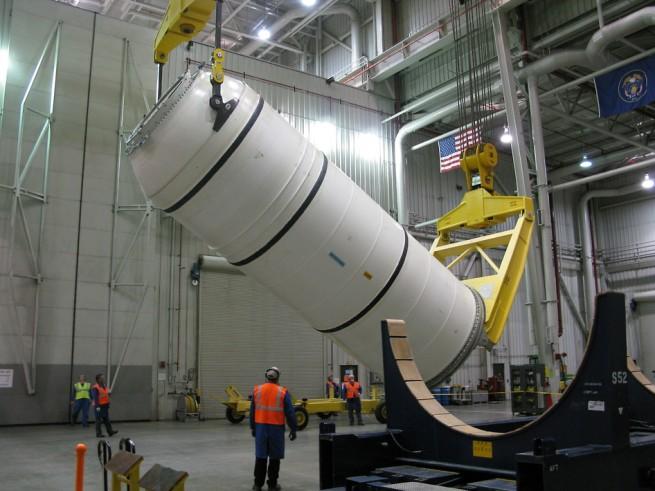 SLS booster segment as seen on Spaceflight Insider