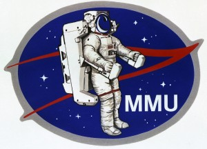 Patch for the first MMU test flight as seen on Spaceflight Insider