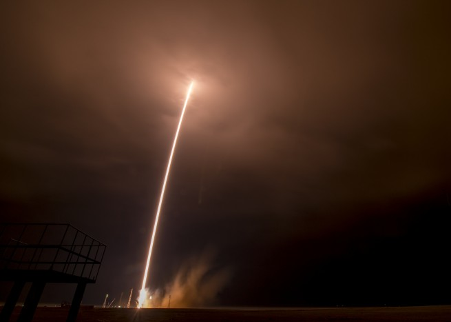 Soyuz launch as seen on Spaceflight Insider