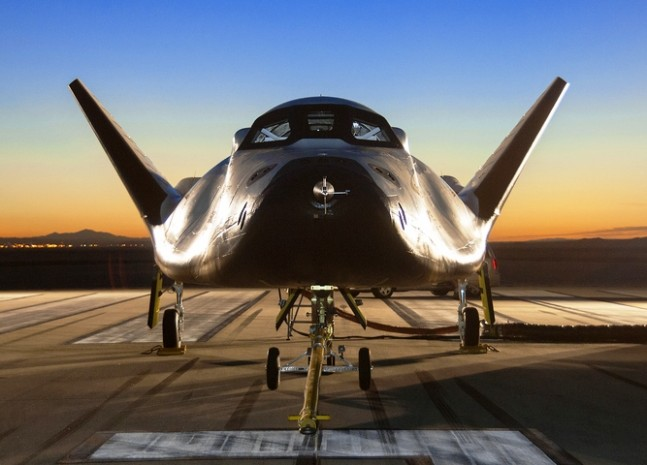 Sierra Nevada Corporation Dream Chaser NASA space plane photo credit Ken Ulbrich NASA posted on SpaceFlight Inisder