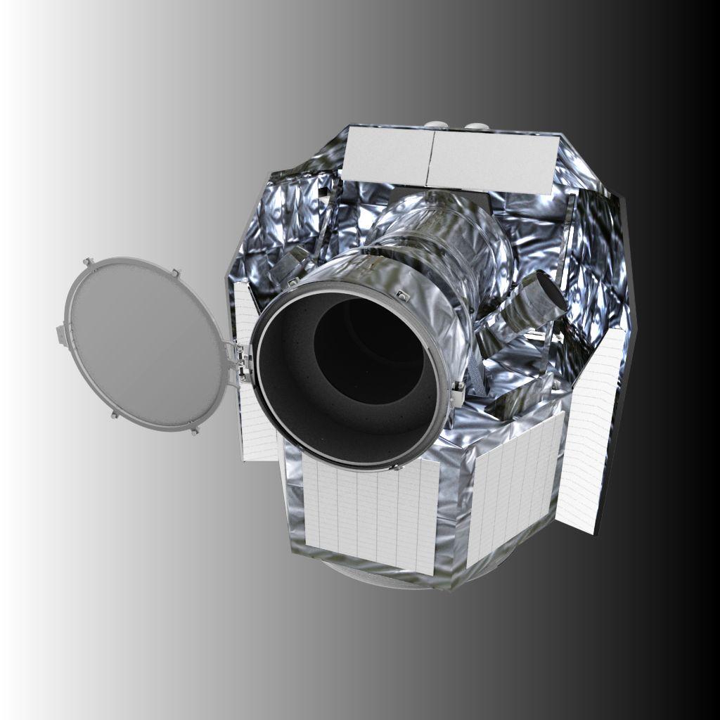 Artist's rendering of ESA CHEOPS satellite