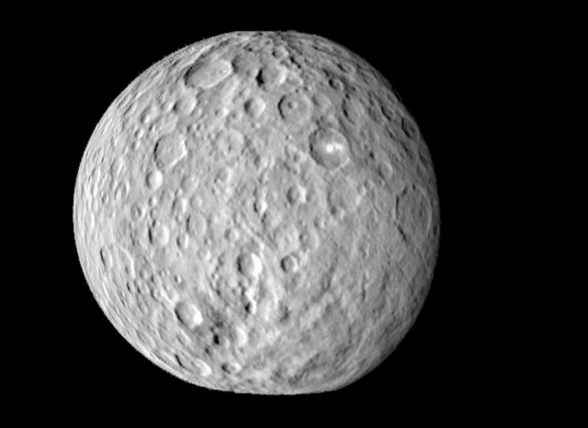 Ceres as seen on Spaceflight Insider
