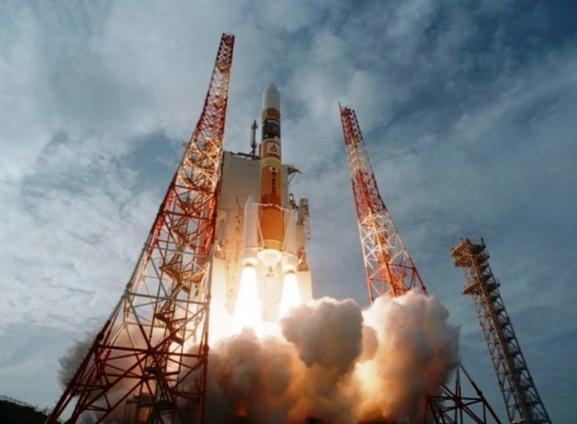 IGS Optical satellite launches atop JAXA H IIA rocket from Tanegashima Japan JAXA photo posted on SpaceFlight Insider