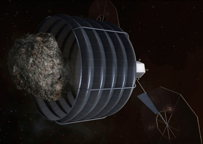 NASA Asteroid Redirect Mission Option B NASA image posted on SpaceFlight Insider