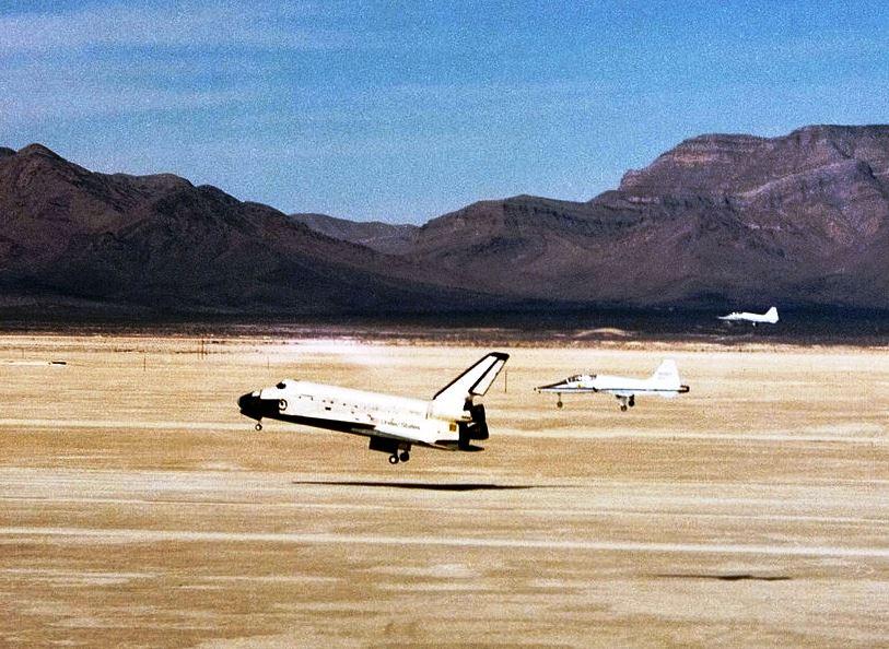 space shuttle landing white sands new mexico - photo #3