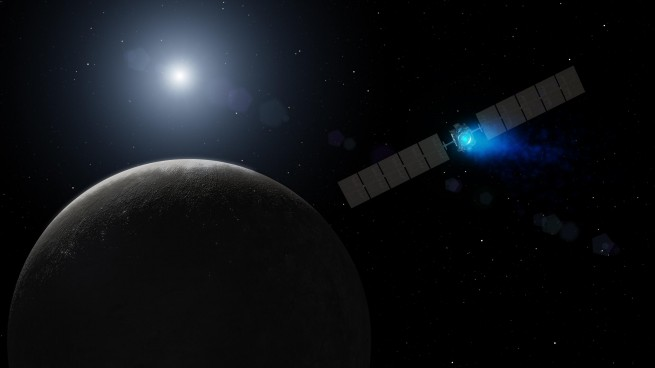 Dawn's arrival at Ceres as seen on Spaceflight Insider