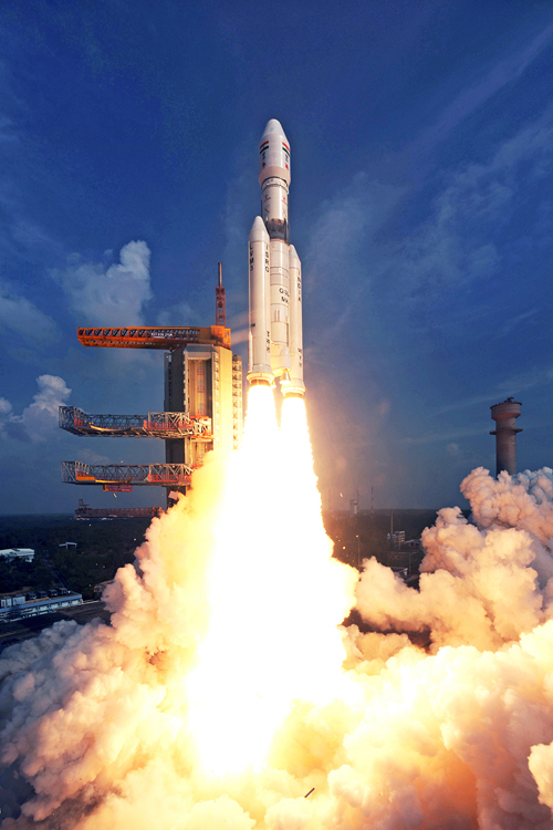 GSLV Mk III launch on Dec. 18, 2014.
