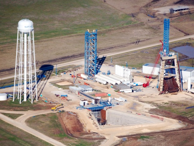 SpaceX - McGregor, TX - New Test Stand - 1/25/15 - Jim Howard