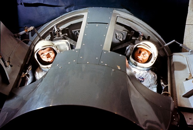gemini 3 crew as seen on Spaceflight Insider