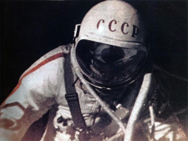 First spacewalker as seen on Spaceflight Insider