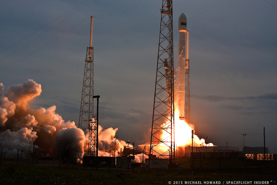SpaceX Falcon 9 v1.1 Turkamenalem Cape Canaveral Air Force Station Space Launch Complex 40 photo credit Mike Howard SpaceFlight Insider