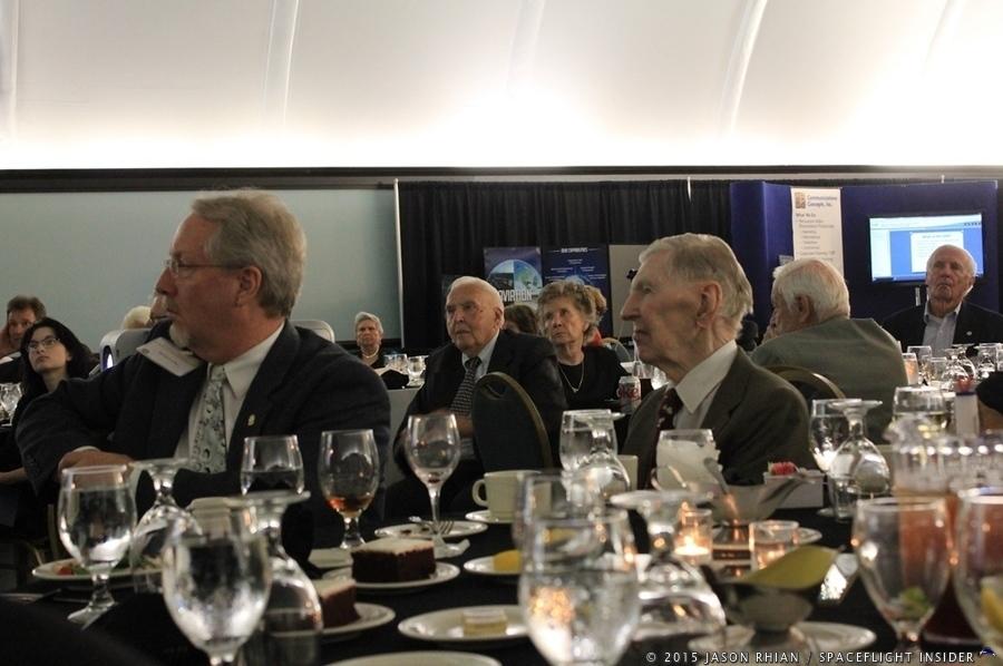 U.S. Missile Space and Range Pioneers Spring banquet Hugh Harris photo credit Jason Rhian / SpaceFlight Insider