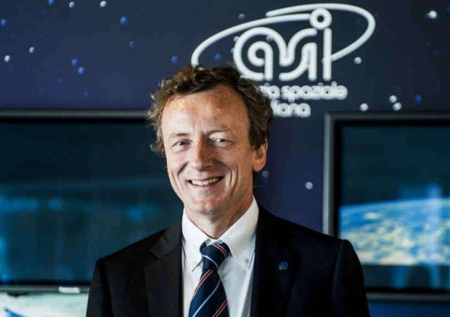 ASI President Roberto Battiston. Credit: Agenzia Giornalistica Italia posted on SpaceFlight Insider