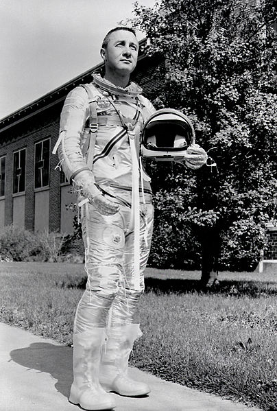 Astronaut_Virgil_I._Grissom_MSFC-8772558 Mercury Gemini Apollo astronaut Gus Grissom posted on SpaceFlight Insider