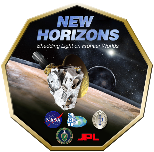 New_Horizons logo NASA image posted on SpaceFlight Insider