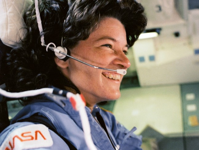 NASA astronaut Sally Ride STS 7 space shuttle Challenger NASAphoto posted on SpaceFlight Insider