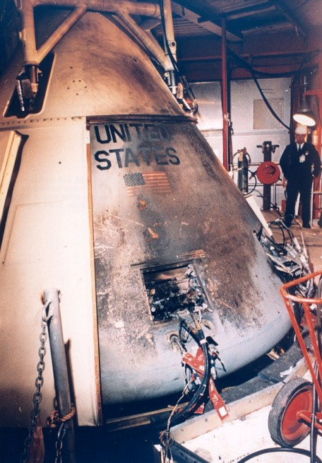 Apollo 1 Command and Service Module NASA photo posted on SpaceFlight Insider