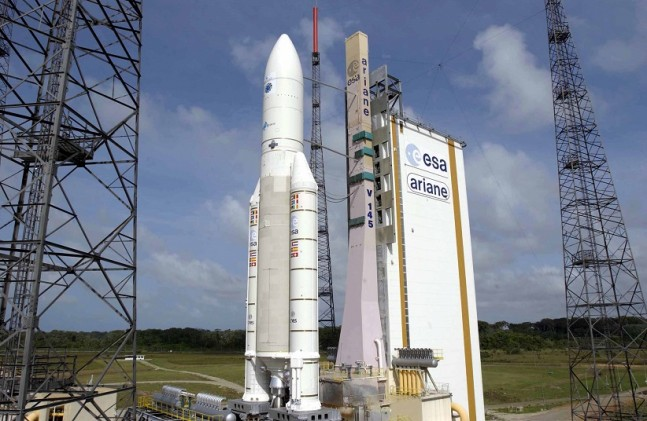 Ariane 5 launch vehicle as seen on Spaceflight Insider
