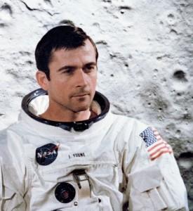John Young. Photo Credit: NASA