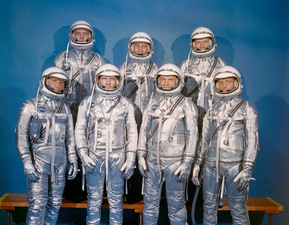 mercury 7 astronauts walking - photo #15
