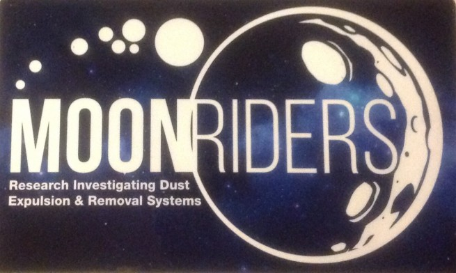 Moon RIDERS logo designed by Kealakehe High School student Amy Lowe. Photo Credit: Jim Sharkey / SpaceFlight Insider