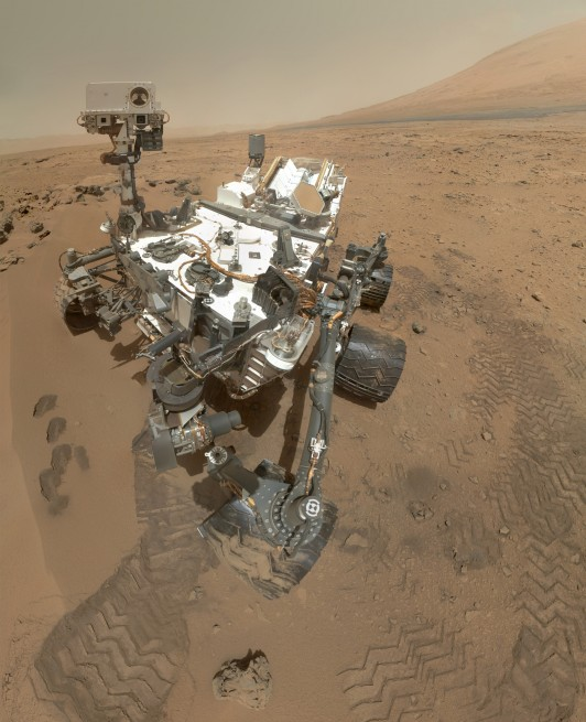 NASA Mars Science Laboratory rover Curiosity Red Planet Gale Crater Mount Sharp NASA image posted on SpaceFlight Insider