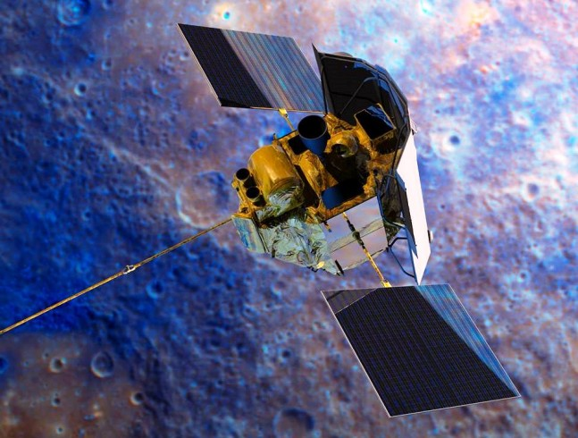 NASA's MErcury Surface, Space ENvironment, GEochemistry, and Ranging (MESSENGER) spacecraft NASA image posted on SpaceFlight Insider