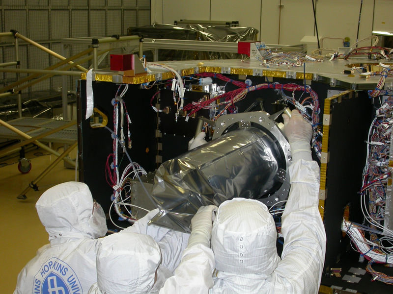 New_Horizons_LORRI instrument NASA image posted on SpaceFlight Insider