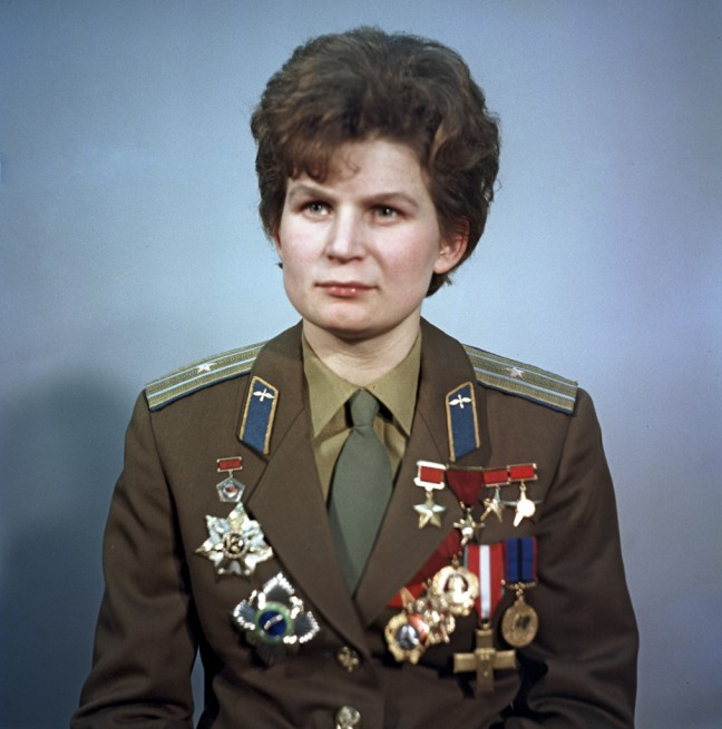 Soviet Union cosmonaut Valentina Tereshkova  Vostok 6 Photo Credit Ria Novosti posted on SpaceFlight Insider