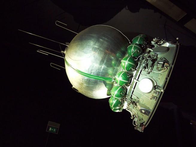 Vostok spacecraft Roscosmos photo posted on Wikimedia