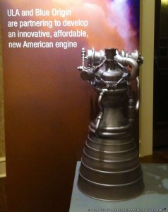 Blue Origin BE-4 Engine Model