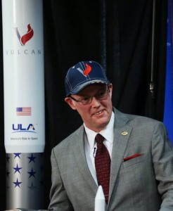 Tory Bruno making ULA Vulcan announcement