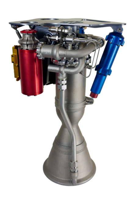 The Rutherford engine. Image Credit: Rocket Lab
